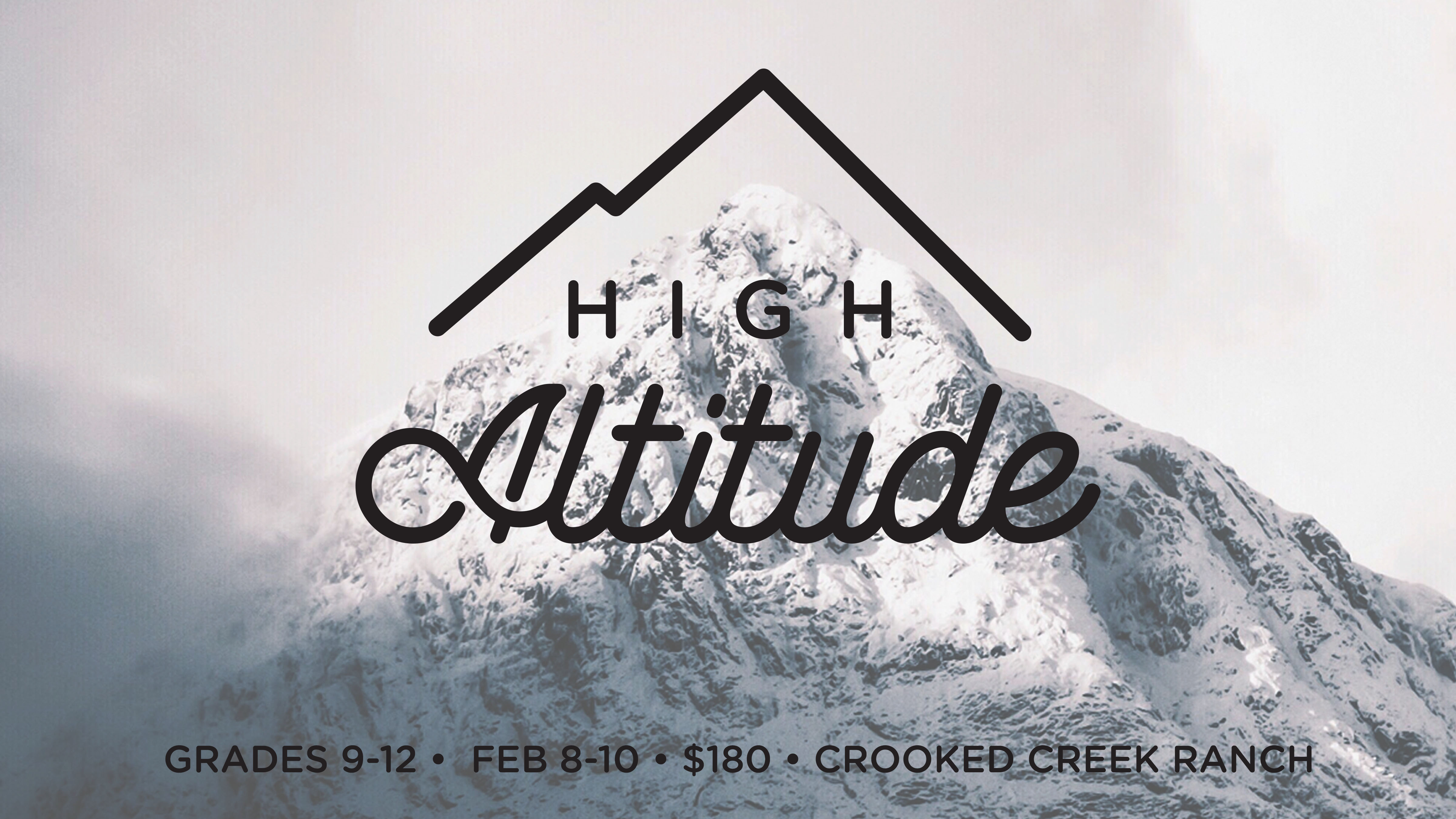 High Altitude | High School Winter Camp